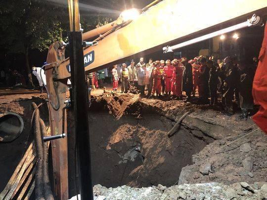 最新消息:达州塌陷事故已挖出2人 1人死亡1人正在抢救