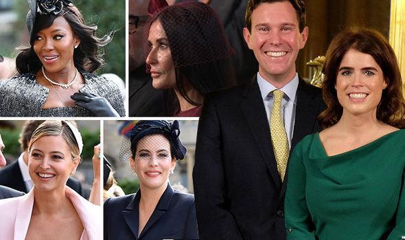 英国尤金妮公主大婚:名流齐聚 排场不输哈里王子