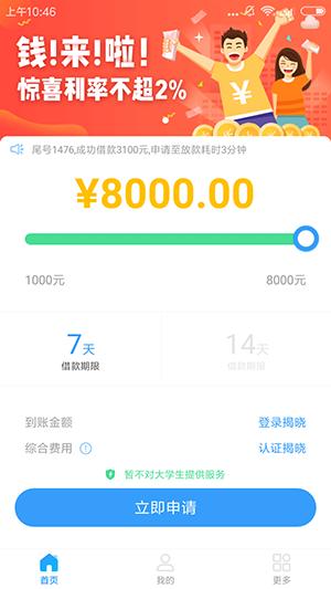 新口子】花薪萝卜:小额贷款口子,秒申秒批,最高8000元!