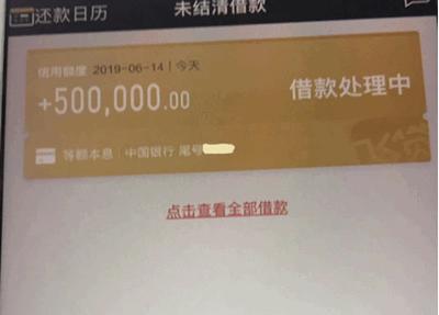 #飞贷#历史门槛最低,主看征信件均10万起,实测最高到手50万元!