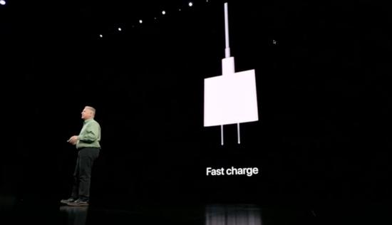 苹果iPhone 11 Pro配备18瓦快充充电器