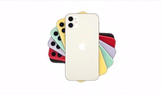 苹果发布新iPhone 11:双摄像头 6种配色