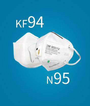 KF94和N95的区别是什么?买不到N95买KF94可以吗?