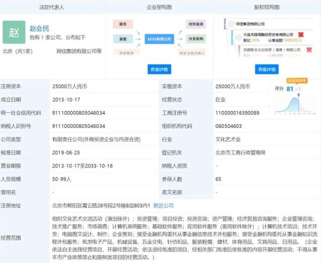 """""""先锋系""""网信集团及法人赵会民被发限制消费令"""